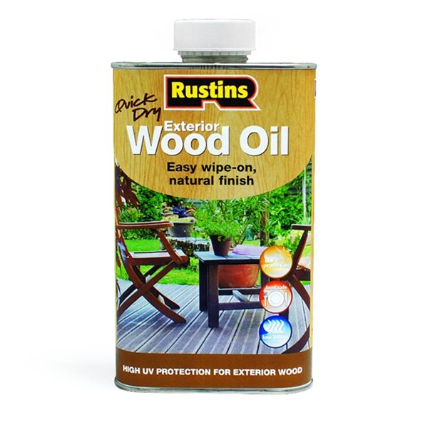 Quick Dry Exterior Wood Oil - 500ml – Now Only £9.00