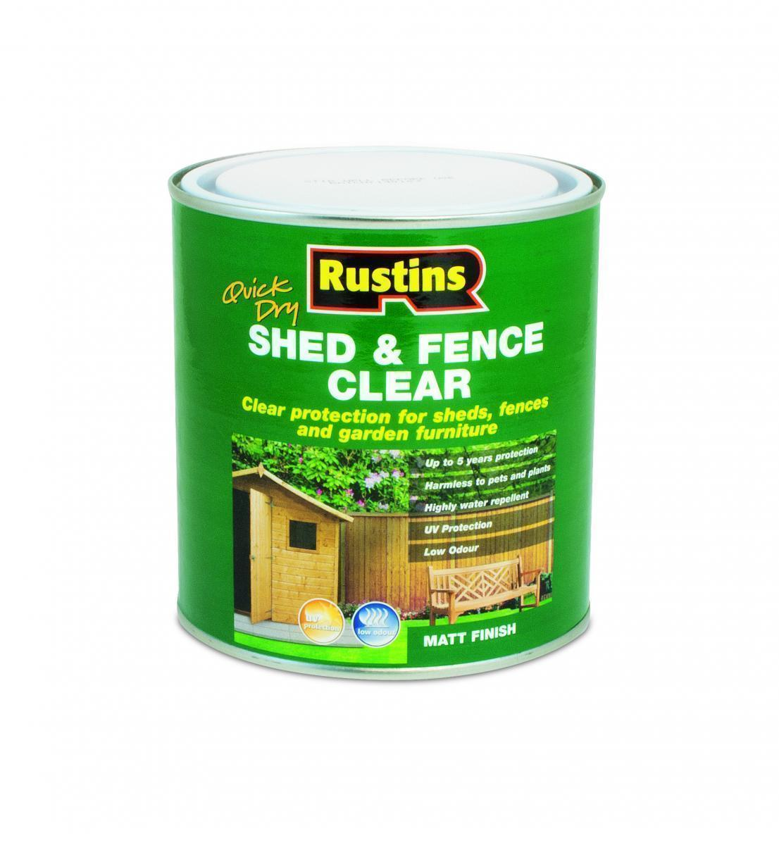 Shed and Fence Clear - 1 Litre – Now Only £6.00