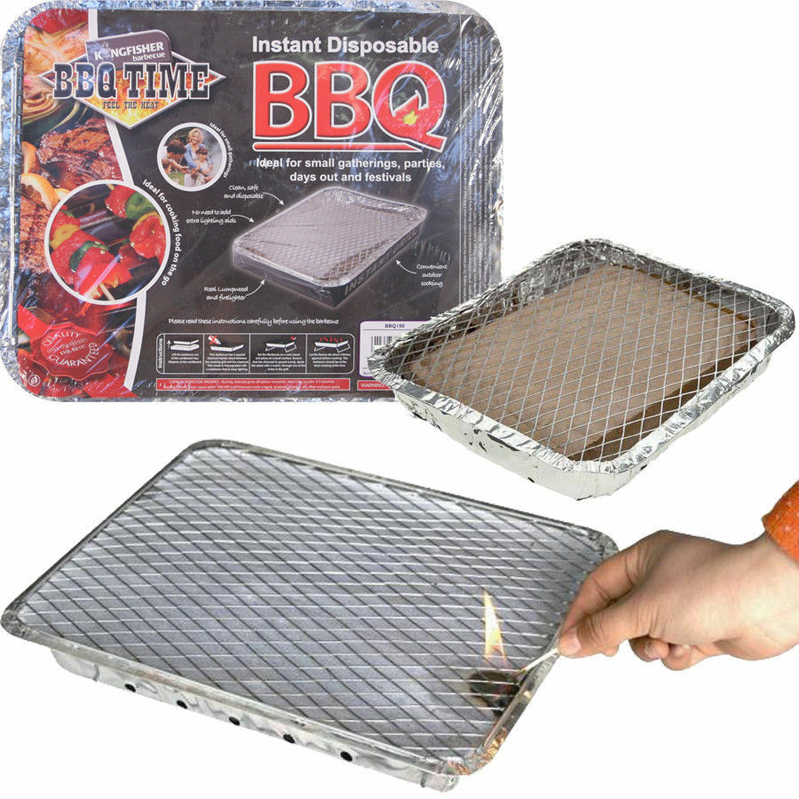 Disposable Charcoal BBQ  – Now Only £5.00