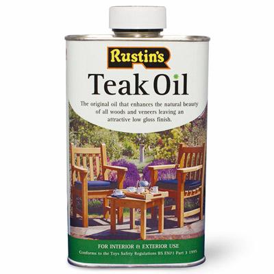 Teak Oil - 500ml – Now Only £7.00